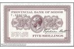 PROV. BANK of SODOR (private issue)
